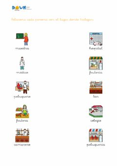 Interactive worksheet Vocabulario profesiones 1