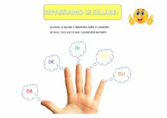 Interactive worksheet Sillabe D