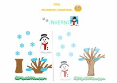 Interactive worksheet Inverno
