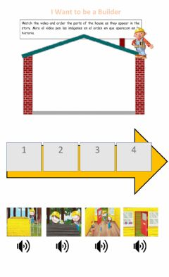 Interactive worksheet I want to be a Builder