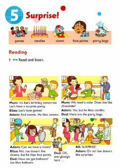Interactive worksheet Reading time!