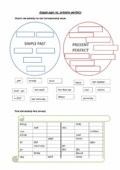 Ficha interactiva Simple past, present perfect and Lord Mayor's Day
