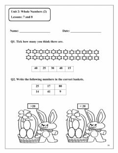 Interactive worksheet Unit 2 Lesson 7 and 8
