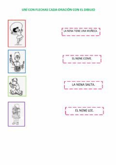 Interactive worksheet Primeras lecturas