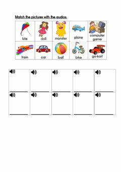 Interactive worksheet Unit 2:Let's Play