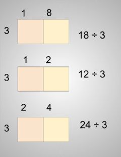 Interactive worksheet Box Division