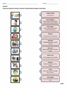 Interactive worksheet Simpulan bahasa