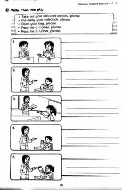 Interactive worksheet CEFR YEAR 1 : Unit 1 (page 13)