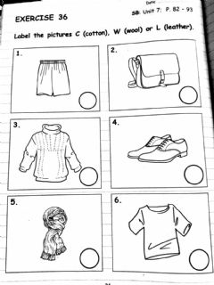 Interactive worksheet CEFR YEAR 2 : Unit 7 (page 90)