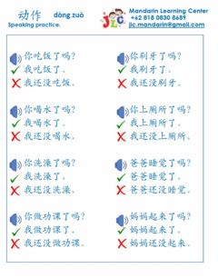 Interactive worksheet Dong zuo speaking sentence