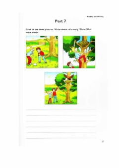 Ficha interactiva Cambridge Flyers: Readin & Writing part 7