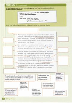 Interactive worksheet Essay Structure