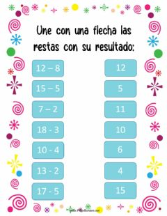 Interactive worksheet Restas con llevada