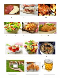 Interactive worksheet Buon appetito!