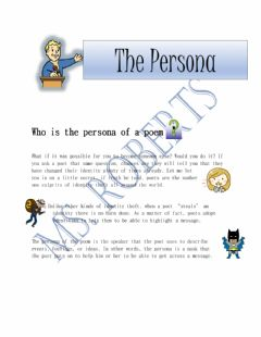 Interactive worksheet The Persona