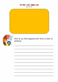 Interactive worksheet The Mixed-Up Chameleon
