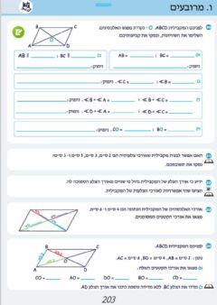 Interactive worksheet ה א 203