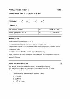 Interactive worksheet Test The Mole
