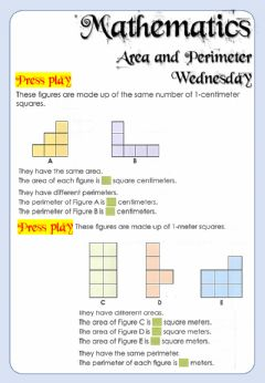 Interactive worksheet Week 19 - Mathematics - Wednesday 6