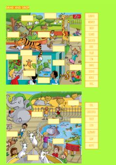 Interactive worksheet Vocabulary Starters Animals