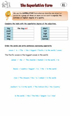 Interactive worksheet 4° 81