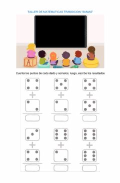 Interactive worksheet Sumas hasta el 20