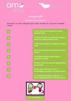 Interactive worksheet Successione temporale