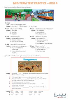 Interactive worksheet Practica movers