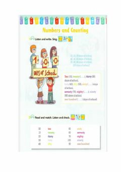 Interactive worksheet Numbers and Counting