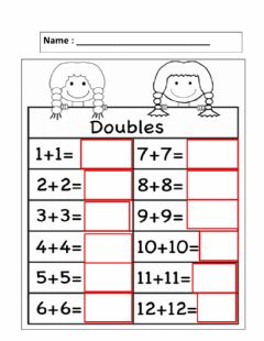 Interactive worksheet Doublling to 24