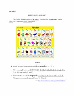 Ficha interactiva Learning Alphabet