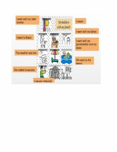 Interactive worksheet Connect the sentences with the correct picture.