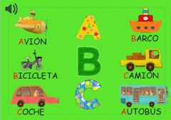 Interactive worksheet A b c transportes
