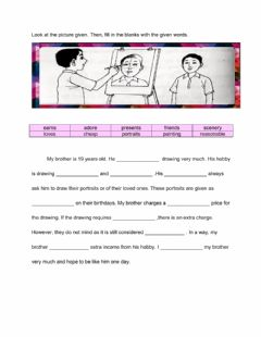 Interactive worksheet My brother