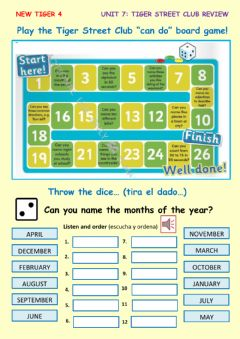 Interactive worksheet Review game