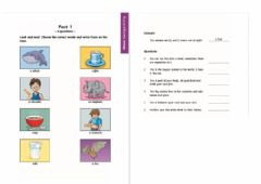 Interactive worksheet Movers Reading and Writing