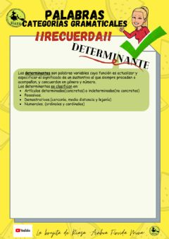 Interactive worksheet 3ºlos determinantes tipo