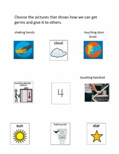 Interactive worksheet How Can We Get Germs 3