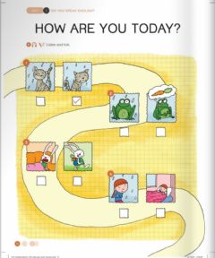 Interactive worksheet Unit 1: Lesson 2: How are you today?