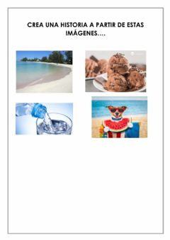 Interactive worksheet Escritura creativa II