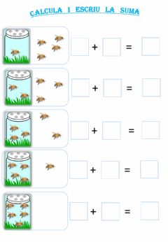 Interactive worksheet Sumes