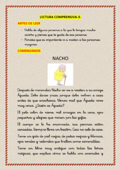 Interactive worksheet Lecturas comprensivas-3-