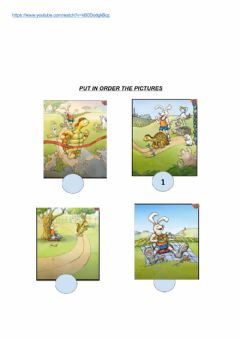 Interactive worksheet The tortoise and the hare