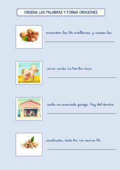 Interactive worksheet Oraciones 2