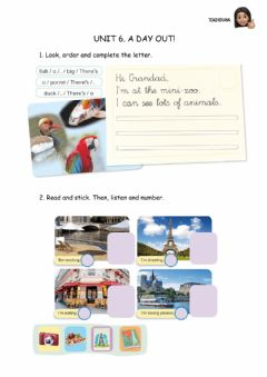 Interactive worksheet Unit 6. A day out