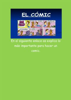 Ficha interactiva El Comic