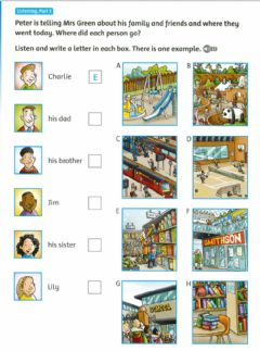 Interactive worksheet Listening movers part 3