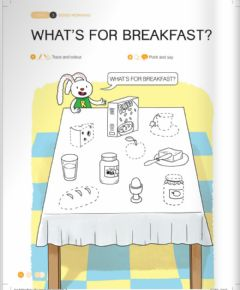 Ficha interactiva Unit 3: Lesson 2:What's for breakfest?