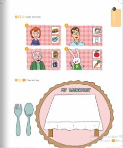 Ficha interactiva Unit 3: Lesson 2:What's for breakfest? (1)