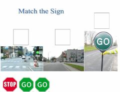 Interactive worksheet Match the Sign
